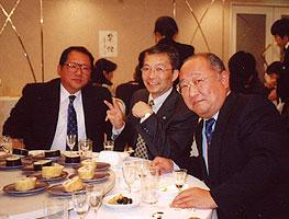 常磐木学園 理事長 松良さんと 宮城ホンダ販売社長 石山さん