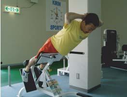 トレーニング(キリンスポーツクラブ内)