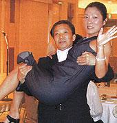 県会議員の坂下康子さん