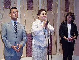 今野東さん・郡和子さんと岡崎トミ子さん