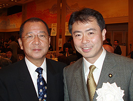 仙台タクシーの社長と桜井充参議院